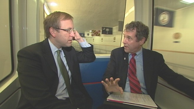 VIDEO of Senator Sherrod Brown on ABC News Subway Series