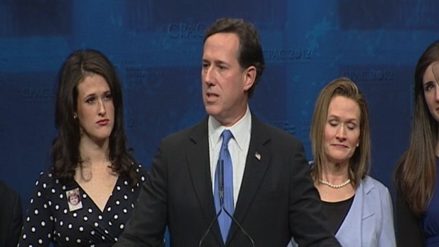 VIDEO: Santorum: Money Will Not Defeat Obama, Ideas Will