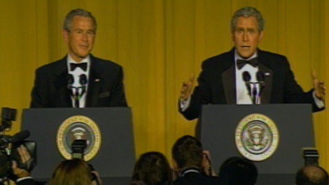 VIDEO: WHCD Memories: Bush and Impersonator Steve Bridges