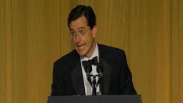 VIDEO: WHCD Memories: Stephen Colbert's Success