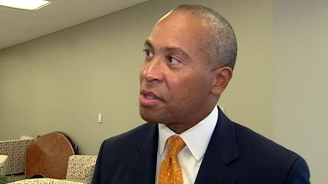 VIDEO: Gov. Deval Patrick: I Like Being the Boss