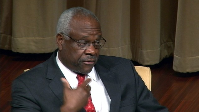VIDEO: Justice Thomas On Faith, Race And His Court Colleagues