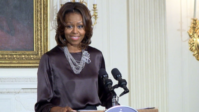 VIDEO: Michelle Obama Hints At The Defining Issue Of Remaining White House Years