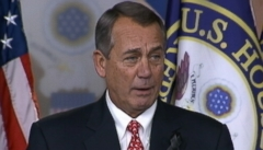 VIDEO: Speaker John Boehner slams conservative groups for criticizing bill he says they have never seen.