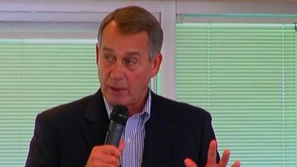 VIDEO: Speaker Boehner Mocks Immigration-Wary Republicans