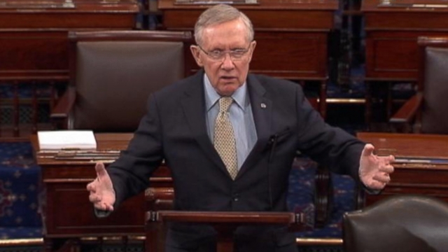 "VIDEO: The Senate majority leader says the conservative donors are ""un-American."""