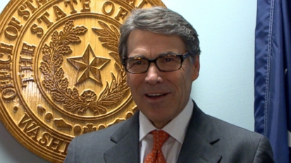 Guess the One Democrat Rick Perry Wants to Have a Beer With