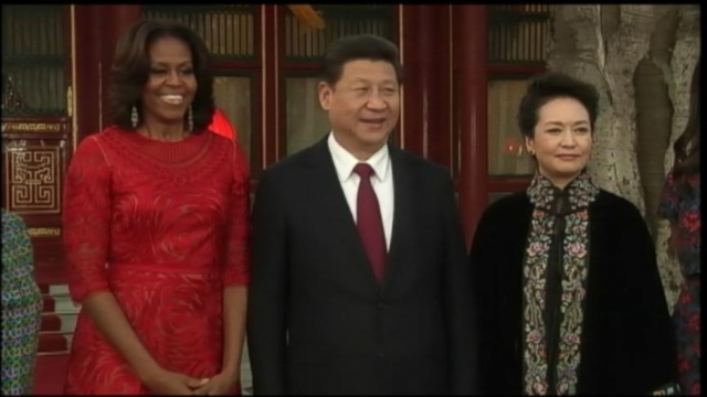 VIDEO: Michelle Obama Wows in China