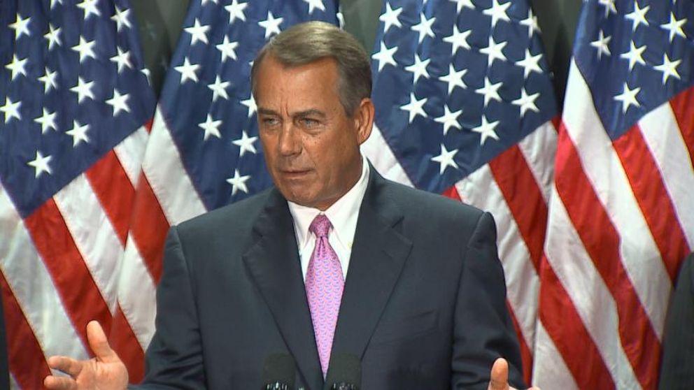 VIDEO: Boehner Pulls Back Optimism for Immigration Reform