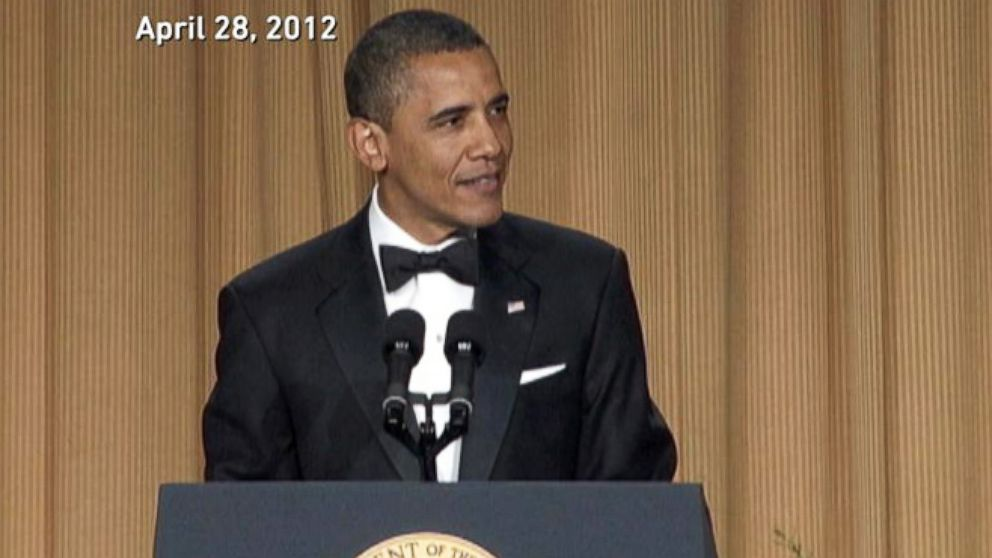 VIDEO: Obamas Top 10 White House Correspondents Dinner Jokes