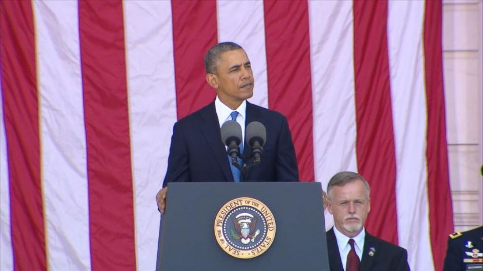VIDEO: Obama Remembers on Memorial Day