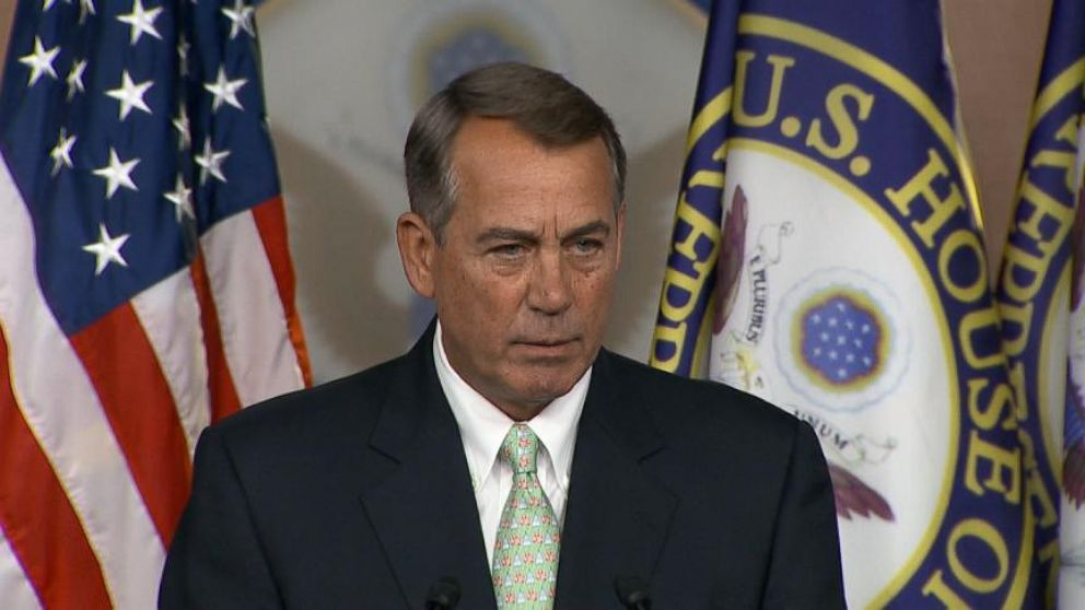 VIDEO: Boehner Says Obama Taking a Nap on Iraq