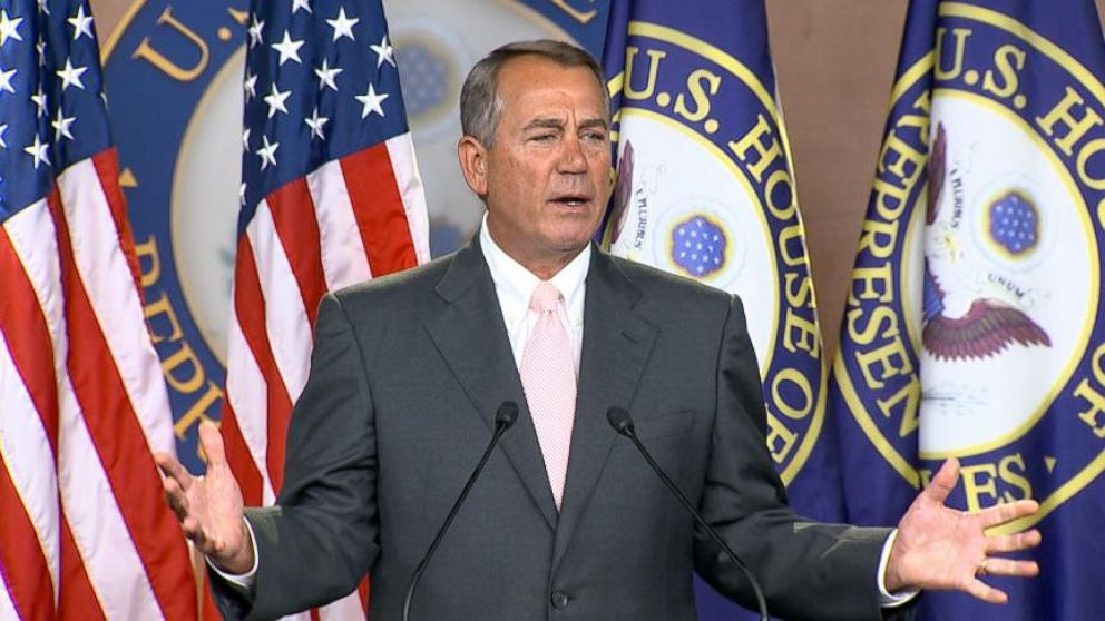 VIDEO: Boehner Blames President Obama for