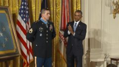 President Obama Awards Medal of Honor to Staff Sgt. Ryan M. Pitts