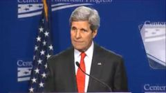 VIDEO: John Kerry on Israel, Palestine Talks: Whats the Alternative?
