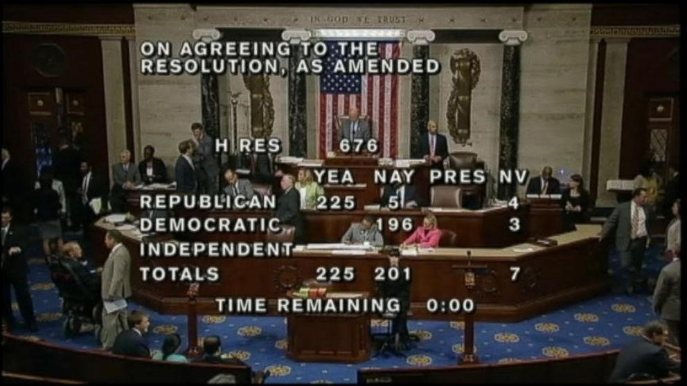 VIDEO: House GOP Votes to Sue President Obama