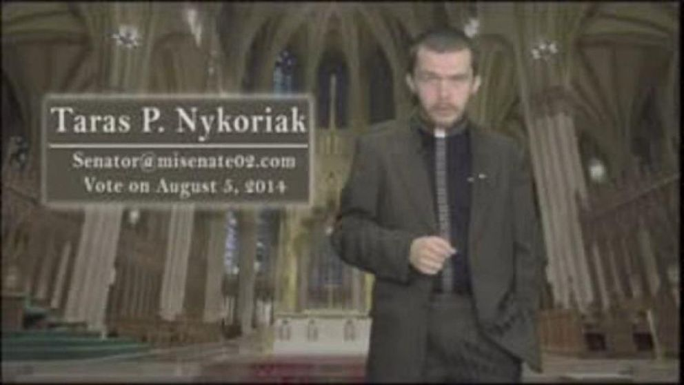 VIDEO: Michigan State Senate Candidate Taras Nykoriaks Campaign Video