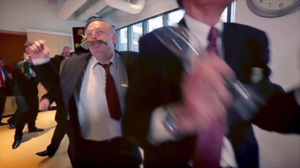 VIDEO: Fake Insurance Execs Rock Out In New Campaign Ad
