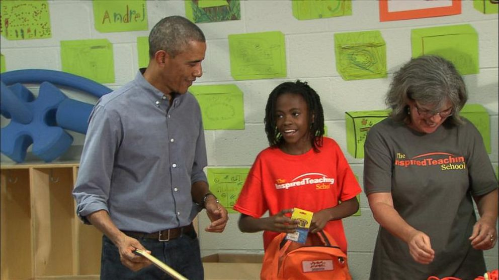 VIDEO: Young Girl Wishes Special Guest Was Beyoncé, Not President Obama
