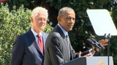 VIDEO: Bill Clinton, President Obama Mark 20 Years of AmeriCorp