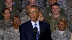 VIDEO: Obama Addresses Troops on ISIS Threat