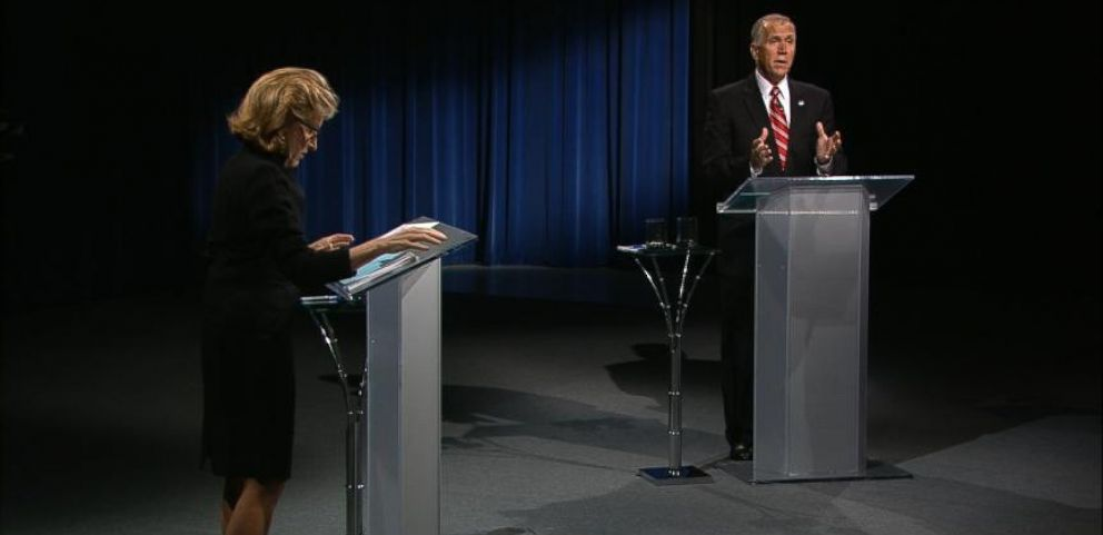 VIDEO: The North Carolina Senate Debate in 95 Seconds