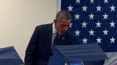 VIDEO: President Obama Casts Early Vote In Chicago