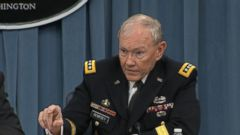 VIDEO: Gen. Dempsey, Defense Secretary Hagel Discuss 21-Day Ebola Quarantine