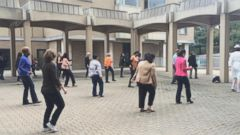 VIDEO: State Department Employees Do Some Halloween Line Dancing