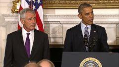 VIDEO: President Obama: Hagel Is No Ordinary Secretary of Defense