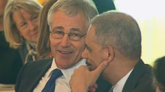 VIDEO: Secretary of Defense Chuck Hagel to Step Down