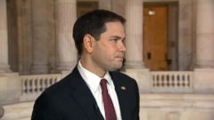 "VIDEO: Rubio says Jeb Bush would be ""formidable candidate"" in the 2016 race for the White House."
