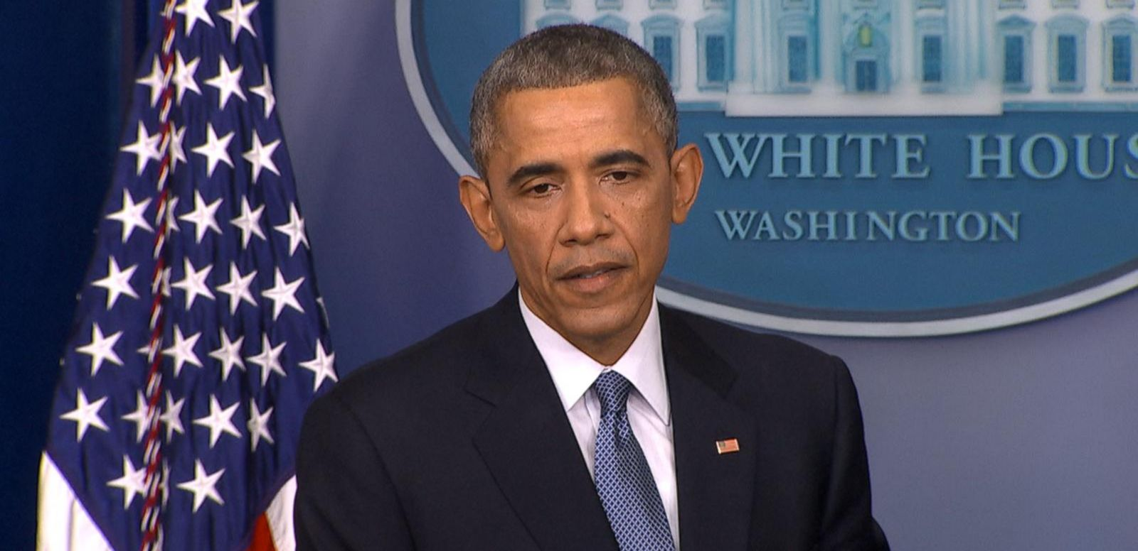 "VIDEO: The president's slip-up came during a news conference when he was referring to ""The Interview."""