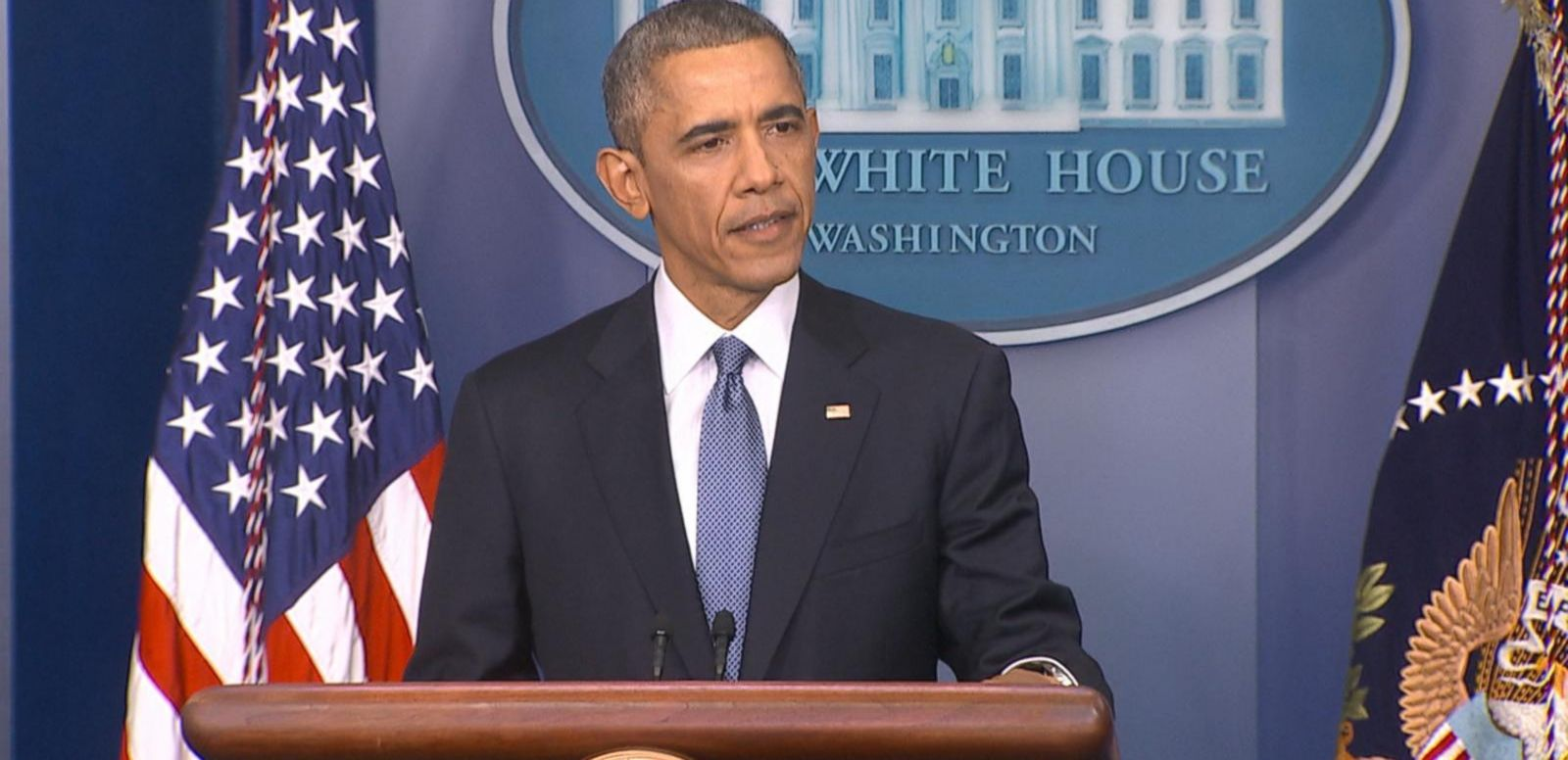 "VIDEO: The president discusses the movie studio's decision to pull ""The Interview"" from theaters."