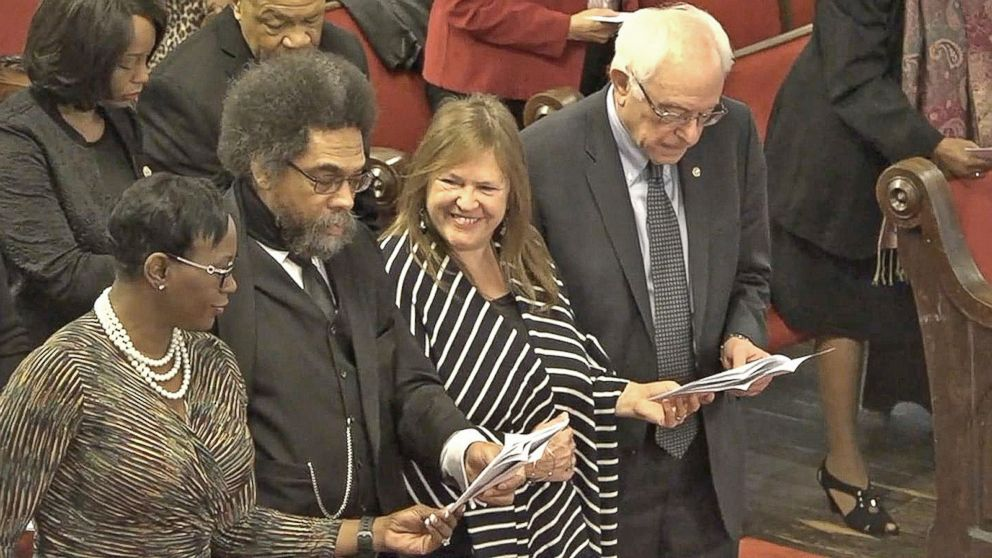VIDEO: Bernie Sanders Visits Emanuel AME Church