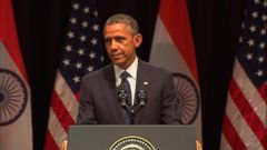 VIDEO: 7 Hindi Lines Obama Dropped in India