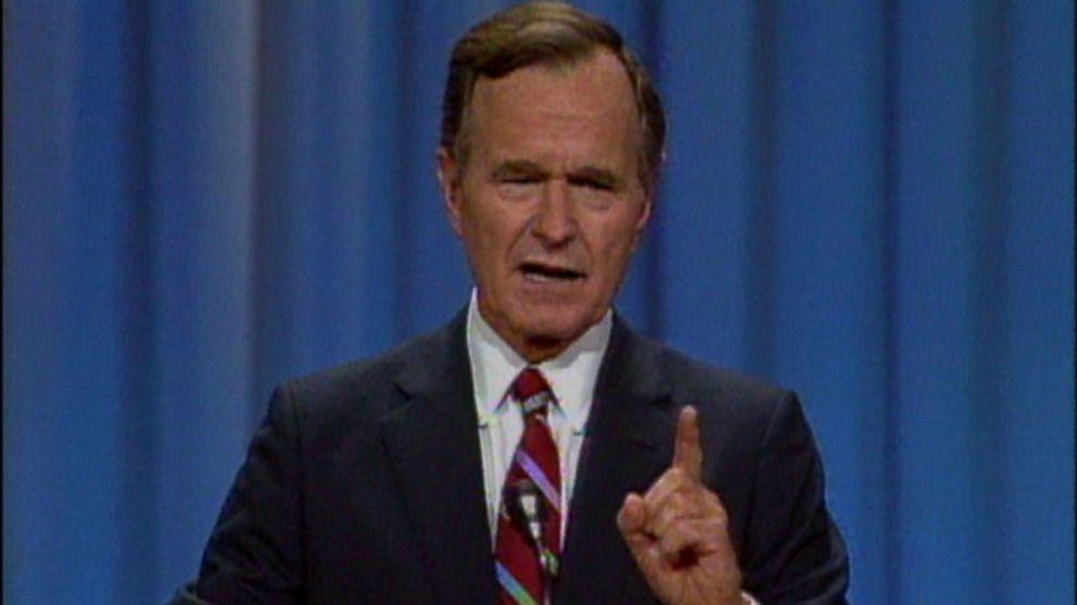 bush in 1988   u0026 39 read my lips  no new taxes u0026 39  video