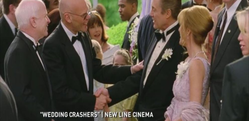 John Mccain Was An Invited Guest In Wedding Crashers