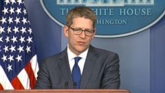 VIDEO: Former White House Press Secretary Jay Carney Shipping Out to Amazon