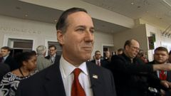 VIDEO: Rick Santorum Says Winning a Straw Poll OnIy Requires Spending a Lot of Money