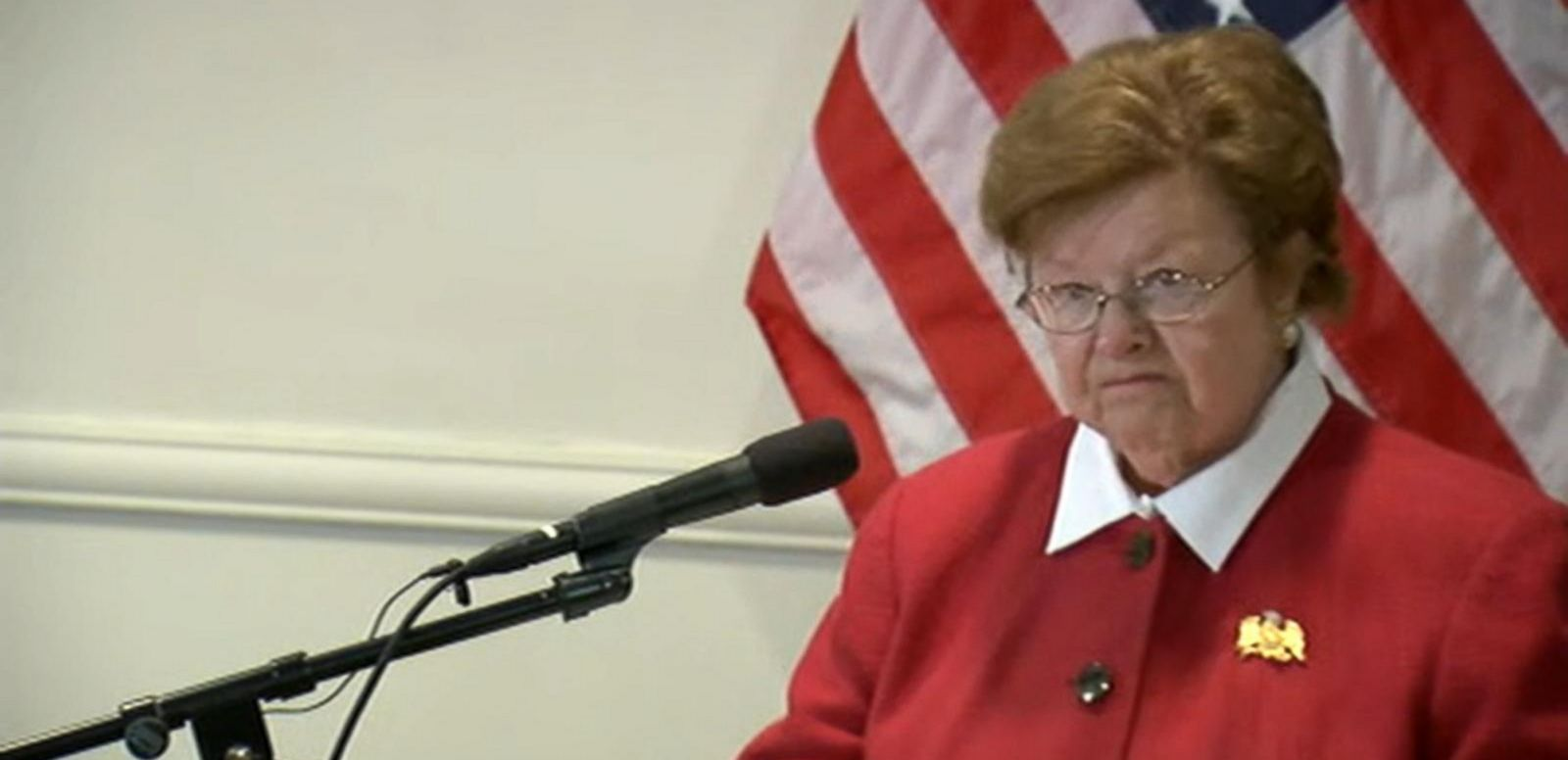 VIDEO: Sen. Barbara Mikulski, Longest-Serving Woman in Congress, Retiring