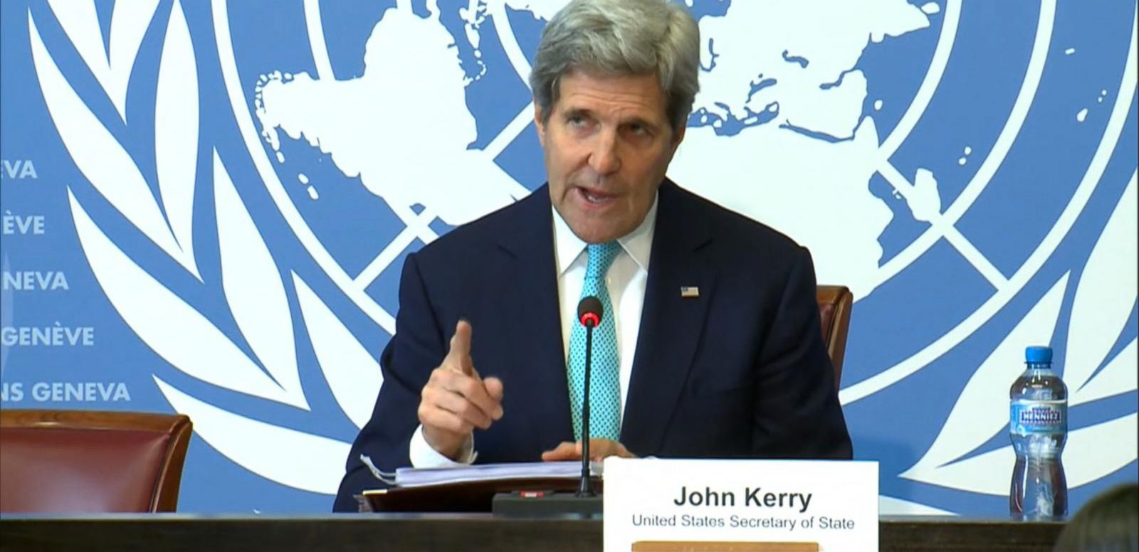 VIDEO: John Kerry: Unless Iran Makes the Difficult Decisions There 'Won't Be a Deal'