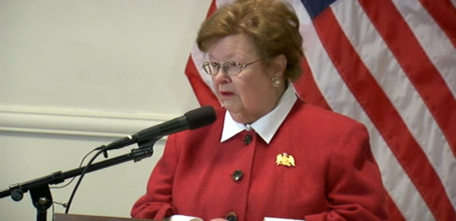 VIDEO: The longest-serving woman in Congress announces her retirement from the U.S. Senate.