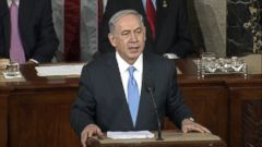 VIDEO: The Israeli Prime Minister thanks the president for his support of Israel in a highly-anticipated address to Congress.