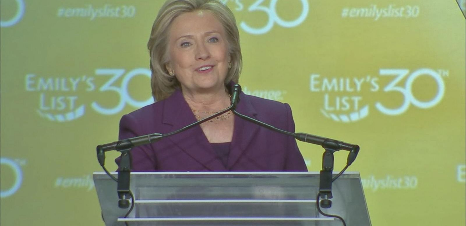 VIDEO: Hillary Clinton Doesn't Comment on Email Controversy