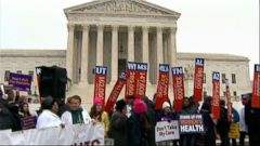 VIDEO: Affordable health insurance for millions of Americans is on the line as the Affordable Care Act is tested in front of the Supreme Court for a second time.