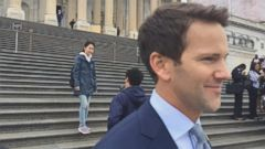 VIDEO: Embattled Rep. Aaron Schock Departs Capitol After Farewell Speech