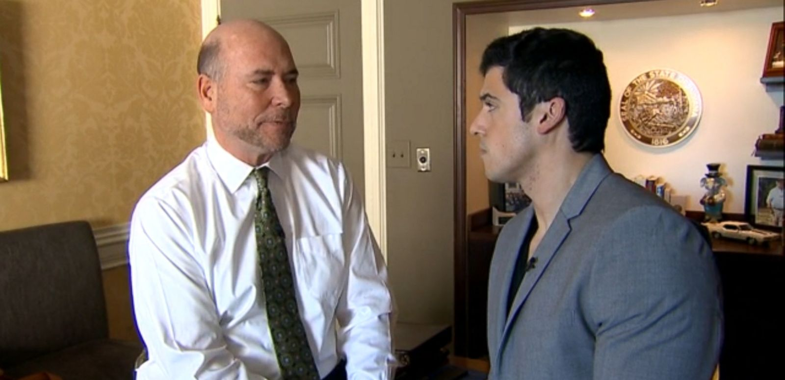 """VIDEO: House Speaker Brian Bosma says the governor failed to address questions about his state's """"religious freedom"""" law in an interview with ABC News' George Stephanopoulos on """"This Week."""""""