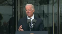 VIDEO: Joe Biden Remembers Ted Kennedy as Anchor of the Senate
