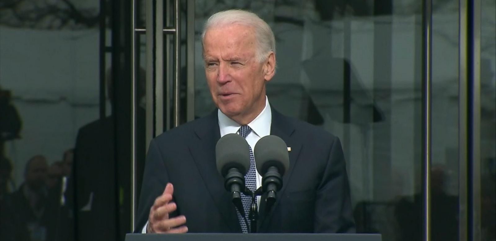 VIDEO: Joe Biden Remembers Ted Kennedy as 'Anchor' of the Senate